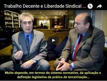 Trabalho Decente e Liberdade Sindical no Brasil