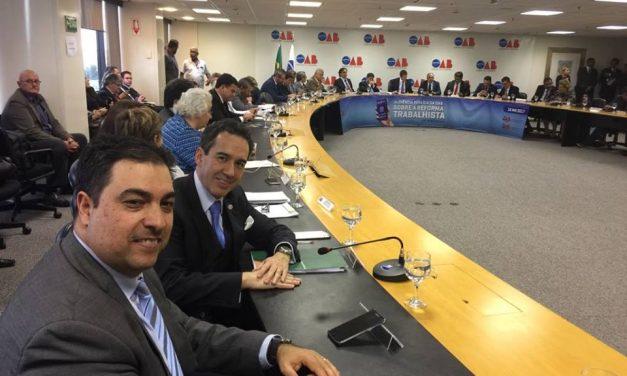 Parecer de advogado paranaense sobre Reforma Trabalhista é aprovado em Comissão da OAB Federal