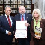 Posse de Sandro Lunard, sócio fundador do Instituto Edésio Passos, no Instituto dos Advogados Brasileiros (IAB)